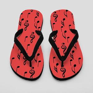 Born to Sing Flip Flops
