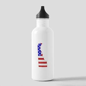 Delaware Flag Stainless Water Bottle 1.0L