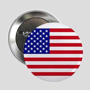 "American Flag Pin 2.25"" Button"