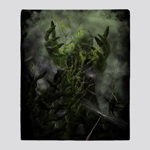 Plant Man Cometh Throw Blanket