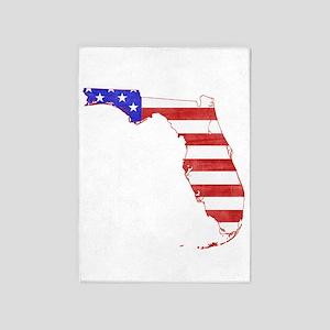Florida Flag 5'x7'Area Rug