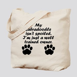Well Trained Labradoodle Owner Tote Bag