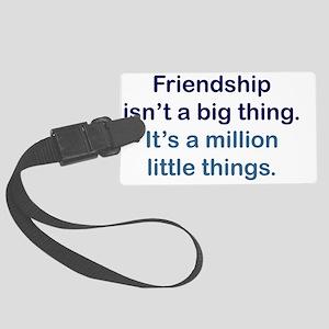 friendship_btle1 Large Luggage Tag