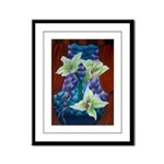 Lillies Framed Panel Print