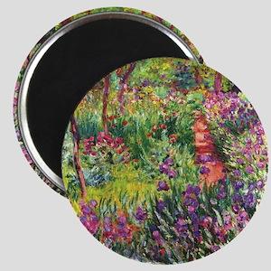 Iris Garden by Monet Magnets