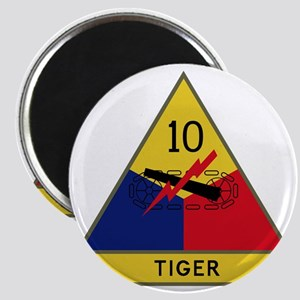 10th Armored Division - Tiger Division Magnet