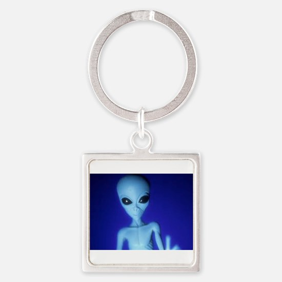 The Blue Alien Keychains