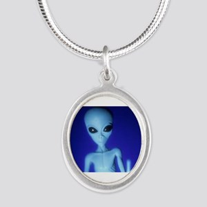The Blue Alien Necklaces