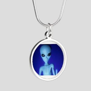 The Blue Alien Necklaces
