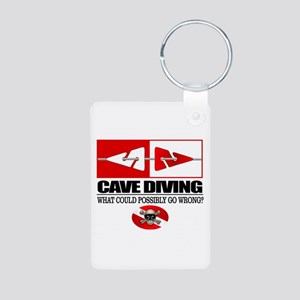 Cave Diving (Line Markers) Keychains