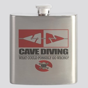 Cave Diving (Line Markers) Flask