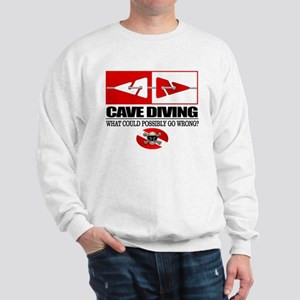 Cave Diving (Line Markers) Sweatshirt