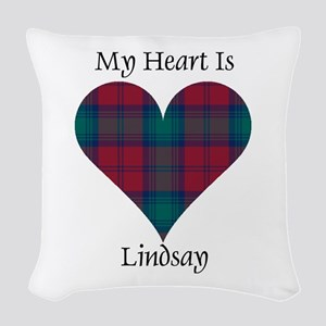 Heart - Lindsay Woven Throw Pillow
