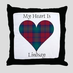 Heart - Lindsay Throw Pillow