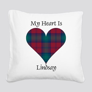Heart - Lindsay Square Canvas Pillow