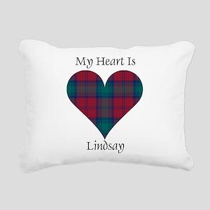 Heart - Lindsay Rectangular Canvas Pillow