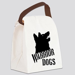 Warrior Dogs Canvas Lunch Bag