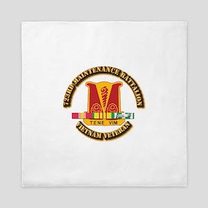 Army - 723rd Maintenance Battalion w SVC Ribbons Q