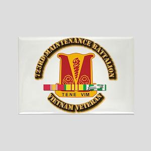 Army - 723rd Maintenance Battalion w SVC Ribbons R