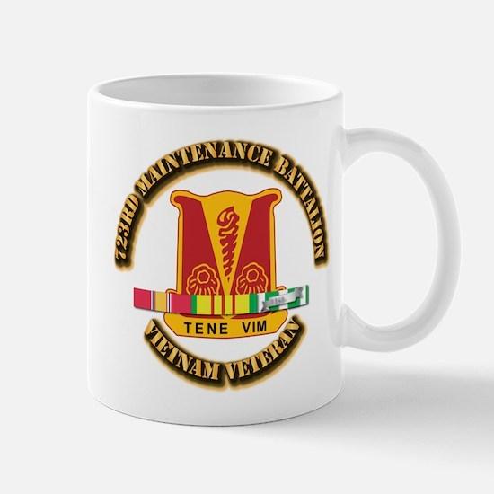 Army - 723rd Maintenance Battalion w SVC Ribbons M