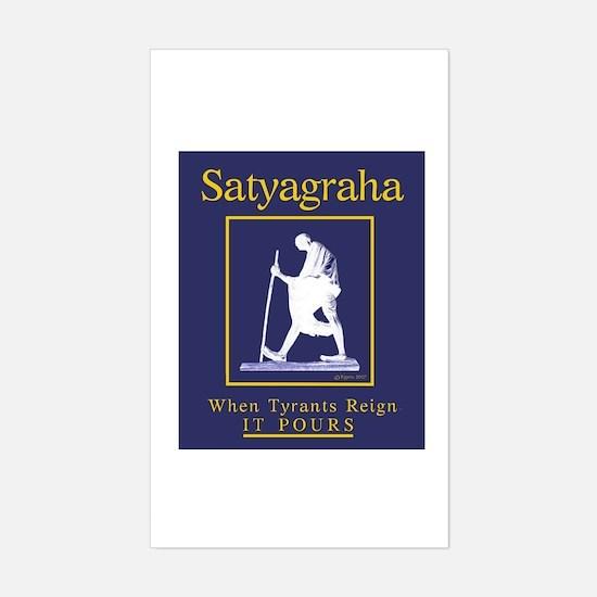 Satyagraha Rectangle Decal