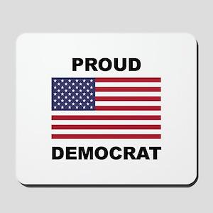 Democrat Pride (Flag) Mousepad