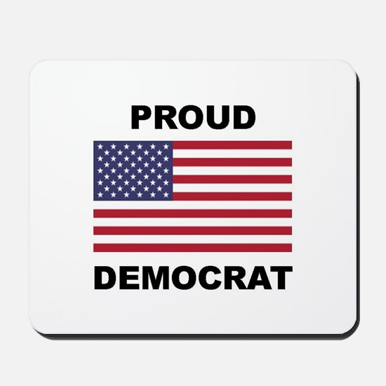 Democrat Pride (Flag) Mousepad