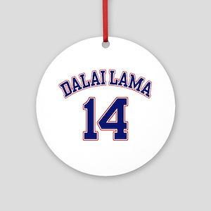 14th Dalia Lama Ornament (Round)