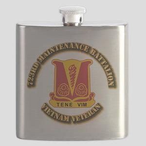 Army - 723rd Maintenance Battalion Flask