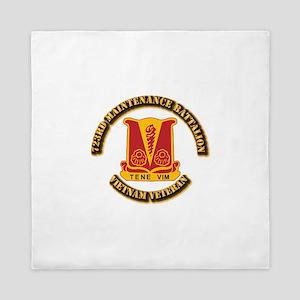 Army - 723rd Maintenance Battalion Queen Duvet