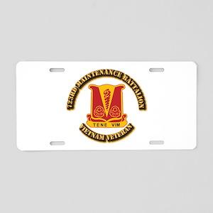 Army - 723rd Maintenance Battalion Aluminum Licens