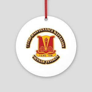 Army - 723rd Maintenance Battalion Ornament (Round