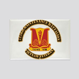 Army - 723rd Maintenance Battalion Rectangle Magne
