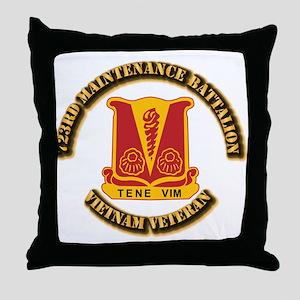 Army - 723rd Maintenance Battalion Throw Pillow