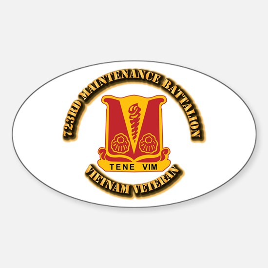 Army - 723rd Maintenance Battalion Sticker (Oval)