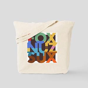 Fox_Nuz_Sux_3 Tote Bag