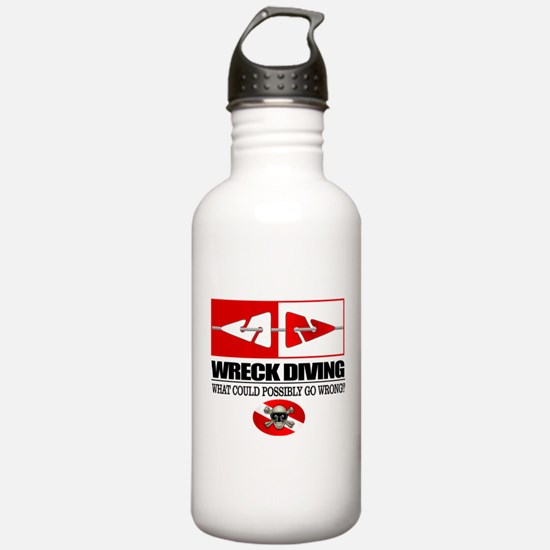 Wreck Diving (Line Markers)2 Water Bottle