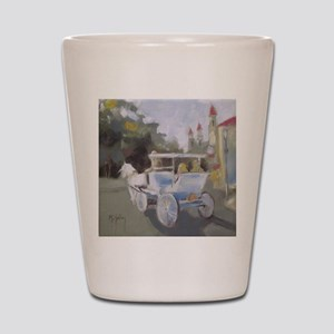 Carriage Ride Sightseeing Shot Glass