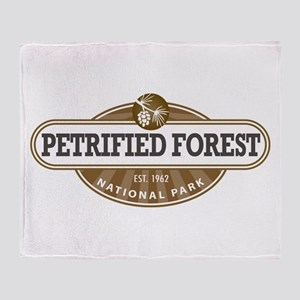 Petrified Forest National Park Throw Blanket