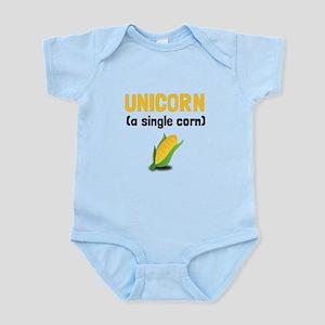 Unicorn Single Corn Body Suit