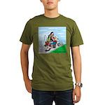 Hells Angles Organic Men's T-Shirt (dark)