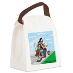 Hells Angles Canvas Lunch Bag
