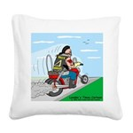 Hells Angles Square Canvas Pillow