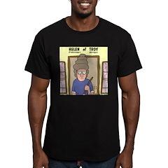Helen of Troy Men's Fitted T-Shirt (dark)