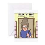 Helen of Troy Greeting Cards (Pk of 10)