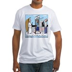 Heavenly Security Fitted T-Shirt