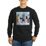 Heavenly Security Long Sleeve Dark T-Shirt