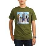Heavenly Security Organic Men's T-Shirt (dark)