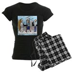 Heavenly Security Women's Dark Pajamas