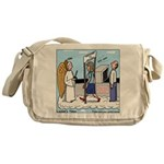 Heavenly Security Messenger Bag